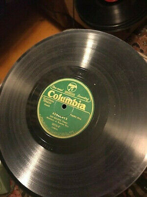 RARE 78 rpm lot VG FINNISH columbia green
