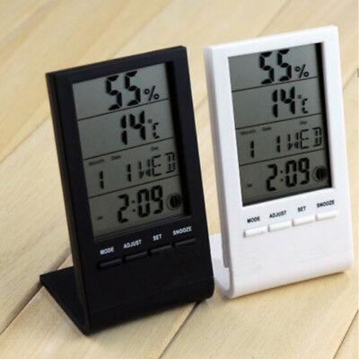 Digital LCD Indoor Electronics Thermometer Hygrometer Temperature Humidity Meter