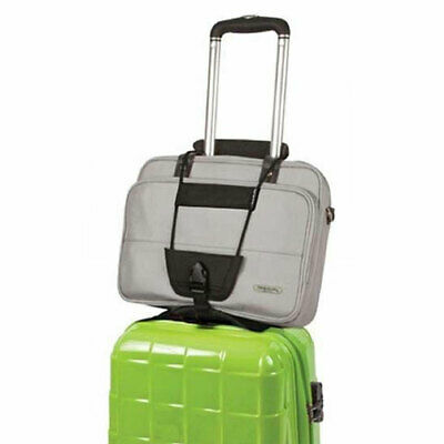 Durable Add Bag Strap Travel Luggage Suitcase Adjustable Belt Carry On Bungee