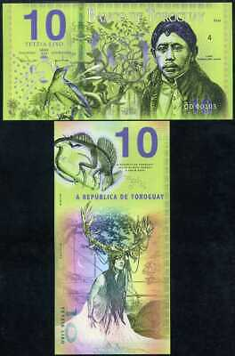 Toroguay 10 Lixo 2019 Mujand Privated Issued Polymer