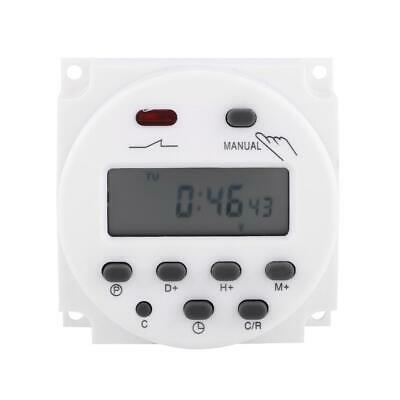 LCD Digital Programmable Control Power Timer AC220V 16A Time Relay Switch CN101A