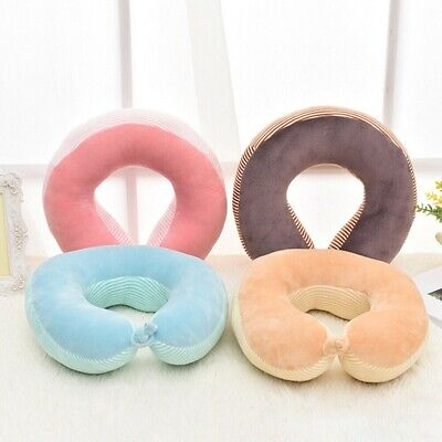 Memory Foam Travel Neck Pillow U shaped Soft Head Car Flight Office Rest Support