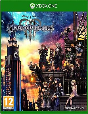 Kingdom Hearts III Xbox One [NO CD/ LEGGERE DESCRIZIONE] FREE REGIONS