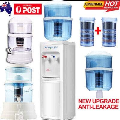 Water Dispenser Floor Stand Desktop Water Filter Ceramic Mineral Purifier Filter