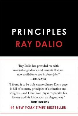Principles, Hardcover by Dalio, Ray, ISBN-13 9781501124020 Free P&P in the UK