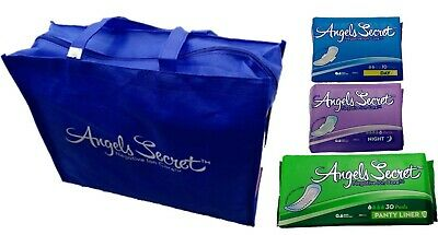 Premium super absorbent sanitary pads with negative ion core technology.