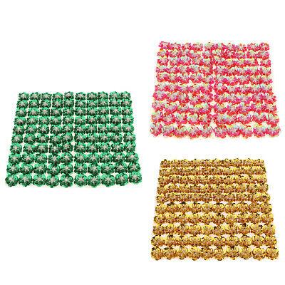 300 Pieces Flower Loose Sequins Paillettes Hole Sewing Craft,0.79inch Dia