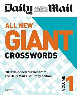 Daily Mail All New Giant Crosswords 1 (The Daily Mail Puzzle Books),Daily Mail