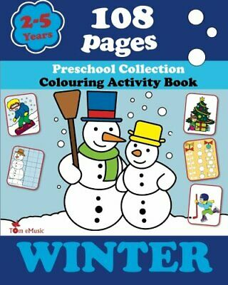 Winter: Coloring and Activity Book with Puzzles, Brain Games, Mazes, Dot-to-Do,