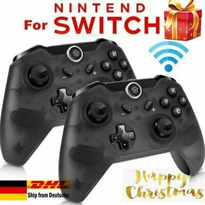 Wireless Bluetooth Pro Controller Gamepad + Ladekabel für Nintendo Switch Use