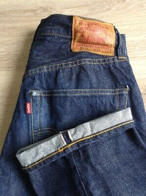 f9de2b52 Levi's 501 Xx Jeans Big E Redline Selvedge Size 28 X 32 Lvc See Description  Usa