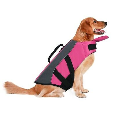 Dog Life Jacket Adjustable Reflective Pet Safety Vest Life Preserver