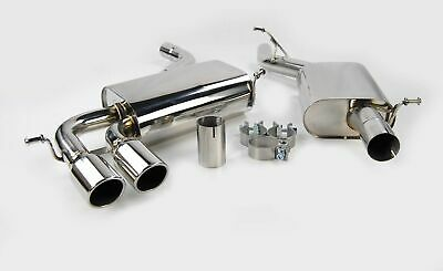 Stainless Steel Exhaust System From Cat Resonated For Audi A3 S3 8P 2.0 Quattro,