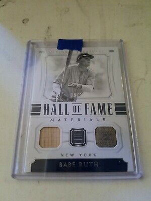 online store e70dc 1acf6 BABE RUTH GAME USED JERSEY CARD #d3/25 1 OF 1 ? RUTHS JSY ...