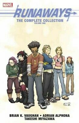 Runaways: The Complete Collection 1, Paperback by Vaughan, Brian K.; Alphona,...