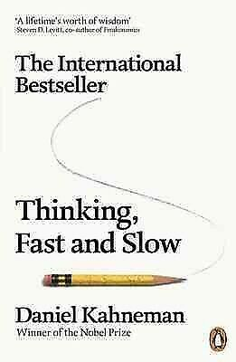 Thinking, Fast and Slow, Paperback by Kahneman, Daniel, ISBN-13 9780141033570...