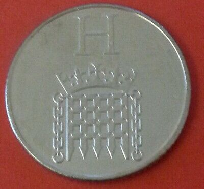NEW A-Z 2019 ALPHABET 10p COIN HUNT-LETTER H  HOUSES OF PARLIAMENT UNCIRCULATED
