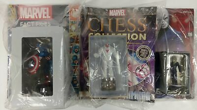 Marvel Fact Files / Chess Collection / Classic Figurine Captain America Chameleo