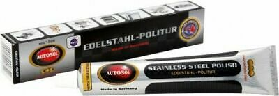 Solvol Autosol STAINLESS STEEL Cleaner Polish 75ml - Exhausts Catering Machines