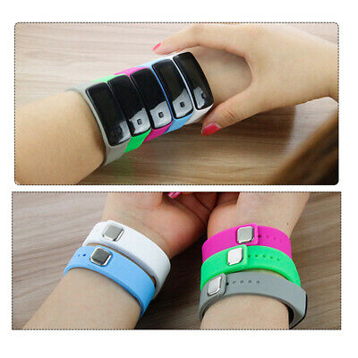 Unisex Watches Wristwatch Touch Screen LED Digital Silicone Outdoor Wrist Watch