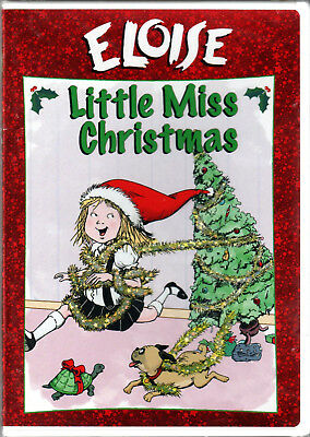 ELOISE in LITTLE MISS CHRISTMAS on a DVD of The ANIMATED Holiday MOVIE from BOOK