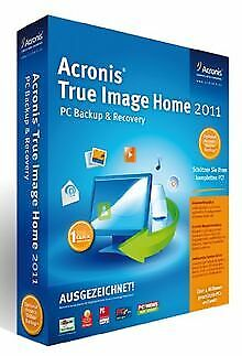 Acronis True Image Home 2011 Mini-Box (1 PC) vo... | Software | Zustand sehr gut