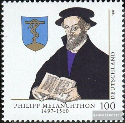 FRD (FR.Germany) 1902 (complete issue) FDC 1997 500.Birthday of Melanchthon