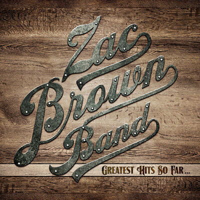 Zac Brown Band Greatest Hits So Far... Cd Brand New