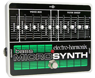 BRAND NEW FROM DEALER Electro-Harmonix Bass Microsynth FREE INTERN'L SHIPPING!!