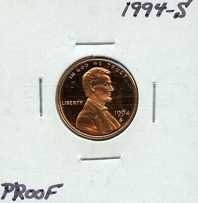 1994-S 1c Proof United States Lincoln Memorial Cent BF901