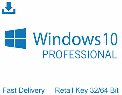 Windows 10 Professional 32/64Bit Retail Key