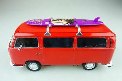 Welly 1/24 VW T2 Surf Bus Volkswagen air cooled ohne Box 510611