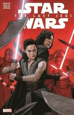 Star Wars the Last Jedi, Paperback by Whitta, Gary; Walsh, Michael (ILT); Spi...