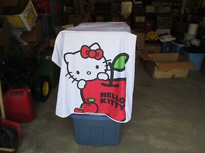 Hello Kitty Advertising Table Cloth Cover Store Display about 37 x 37