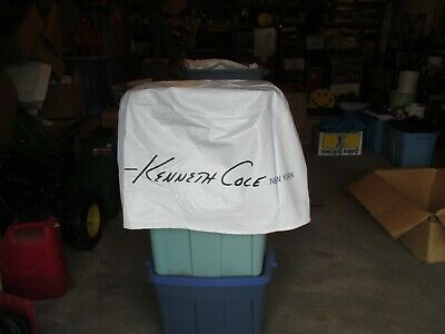 Kenneth Cole NY Advertising Table Cloth Cover Store Display about 30 diameter