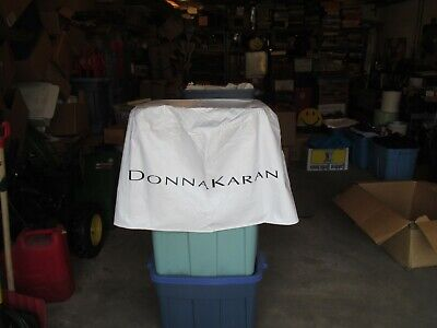 Donna Karen Advertising Table Cloth Cover Store Display about 31 diameter