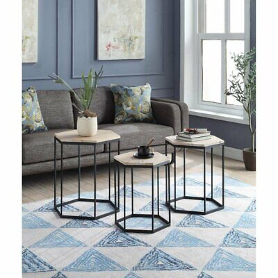 Groovy 4D Concepts Slate Top Nesting Tables 123 10 Picclick Alphanode Cool Chair Designs And Ideas Alphanodeonline
