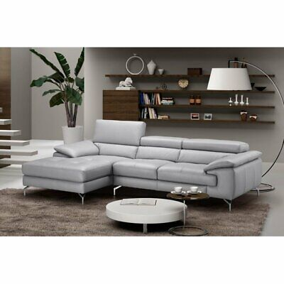 Jm Furniture Liam Premium Leather Sectional