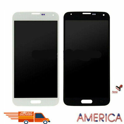 LCD Digitizer Replacement Touch Screen Samsung Galaxy S5 G900T G900A G900V OEM
