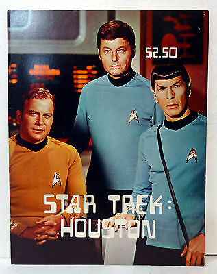 Star Trek Convention Program Book Houston 1975 Star Trek
