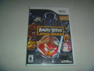 Angry Birds Star Wars (2013) Nintendo Wii Classic Game With Case But No Manual