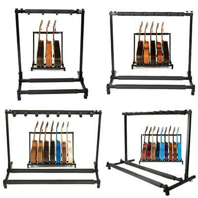 Multi Folding 3 5 7 9 Guitar Stand for Acoustic Electric Bass Guitars