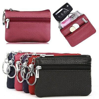 Women Ladies Leather Small Wallet Coin Purse Bag Card Holder Zip Clutch Handbag