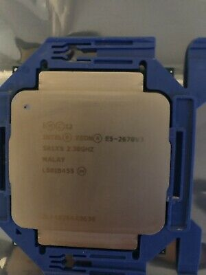 Intel Xeon E5-2670v3 2.30Ghz (12-Core | 24-Thread) SR1XS Processor (CPU)