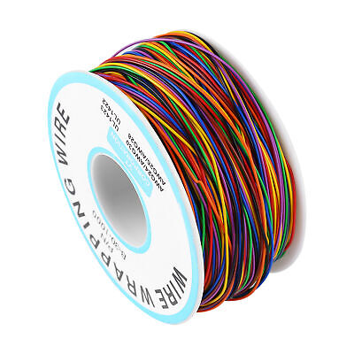P/N B-30-1000 30AWG Tin Plated Copper 8-Wire Colored Insulation Test Wrapping SY