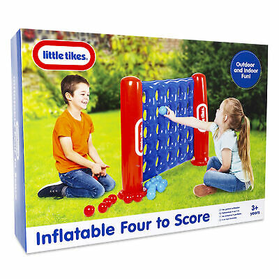 Little Tikes Giant Inflatable Four To Score Game Outdoor Toy Connect 4 in a Row