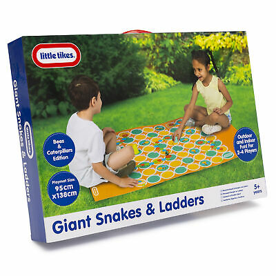 Little Tikes Giant Snakes and Ladders Game Outdoor Indoor Family Kids Fun