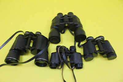 Job Lot 4 Pair Binoculars Sold as Donated to us Need Cleaning  ## WIG 06JWG