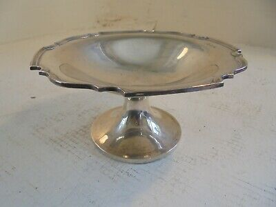 Solid Sterling Silver Comport , Tazza , Stand  , 220 gm