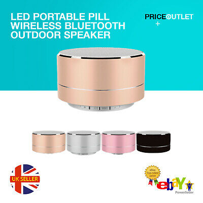 LED Portable Pill Wireless Bluetooth Outdoor Speaker Supports  USB functions Z5